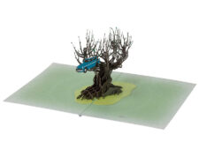 Harry Potter 3D Pop-Up Card: Whomping Willow