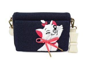 Loungefly: The Aristocats: Marie Denim Cross Body Bag