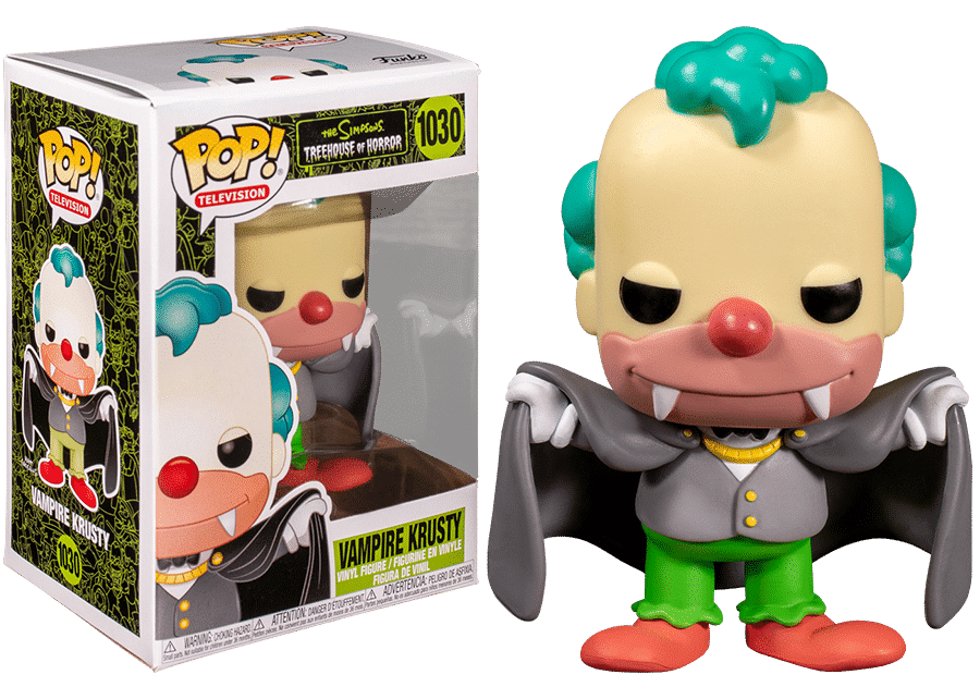Funko Pop! The Simpsons: Vampire Krusty #1030