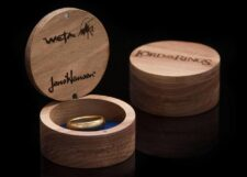 WETA: The One Ring (tungsten gold plated)
