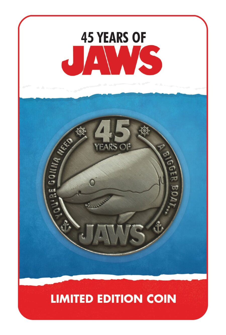 Collectable Coin: Jaws 45th Anniversary