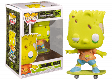 Funko Pop! The Simpsons: Zombie Bart #1027