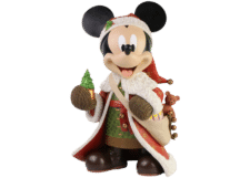 Disney Showcase: Christmas Mickey Mouse Statement Figurine