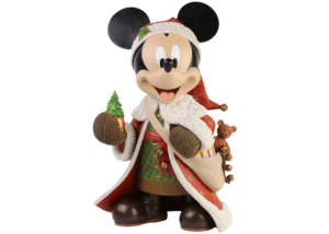 Disney Showcase: Christmas Mickey Mouse Statement Figurine