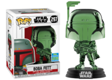 Funko Pop! Star Wars: Boba Fett (chrome) #297