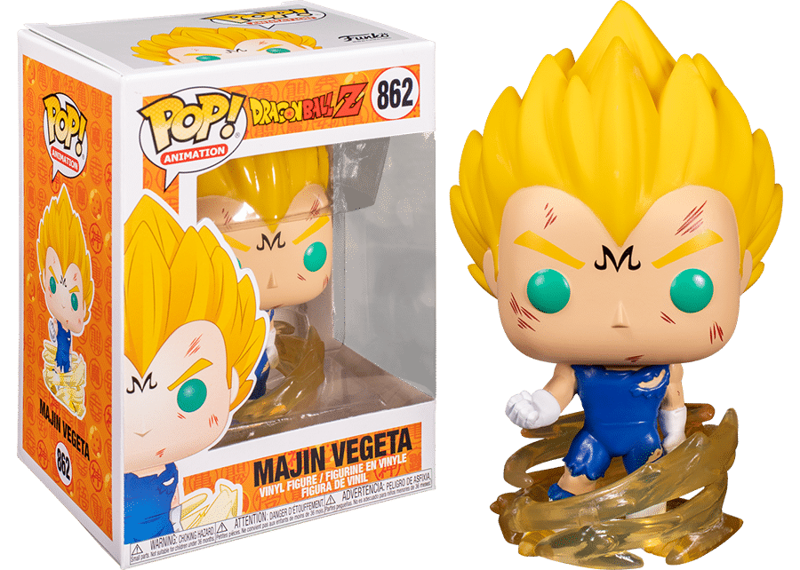 Funko Pop! Dragon Ball Z: Majin Vegeta #862