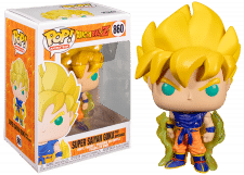 Funko Pop! Dragon Ball Z: Super Saiyan Goku #860