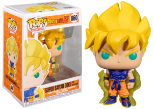 Funko Pop! Dragon Ball Z: Super Saiyan Goku #860