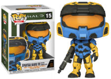 Funko Pop! Halo: Spartan Mark VII #15 (with in-game Skin!)