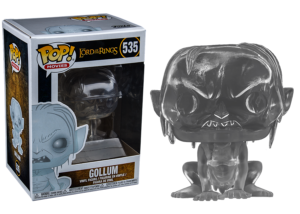 Funko Pop! Lord of the Rings: Invisible Gollum #535