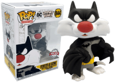 Funko Pop! Looney Tunes: Sylvester as Batman #844