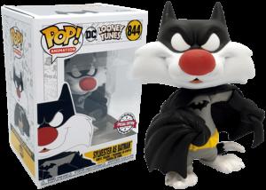 Funko Pop! Looney Tunes: Sylvester as Batman #844