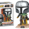 Funko Pop! The Mandalorian: Mando Flying Jet Pack #402
