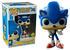 Funko Pop! Sonic with Ring (GitD) #283
