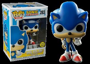 Funko Pop! Sonic with Ring (GitD) #283