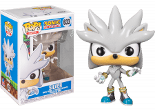 Funko Pop! Sonic 30th: Silver the Hedgehog #633