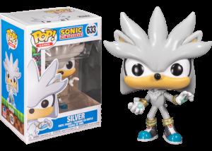 Funko Pop! Sonic 30th: Silver the Hedgehog #633