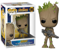Funko Pop! Avengers Infinity War: Groot with Blaster #293