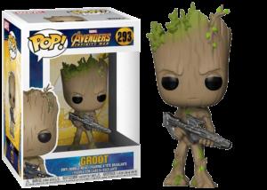 Funko Pop! Avengers Infinity War: Groot with Blaster #293