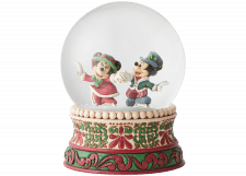 Disney Traditions: Victorian Mickey and Minnie Snowglobe