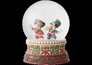 Disney Traditions: Victorian Mickey and Minnie Snowglobe