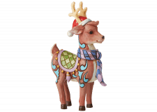 Heartwood Creek: Reindeer with Scarf and Santa Hat
