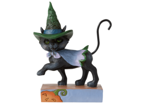 Heartwood Creek: Black Cat with Witch Hat