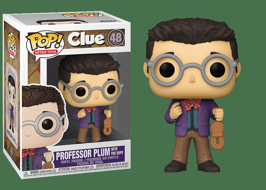 Funko Pop! Clue: Professor Plum with Rope #48