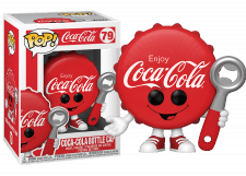 Funko Pop! Ad Icons: Coca-Cola Bottle Cap #79
