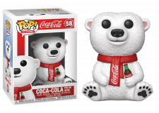 Funko Pop! Ad Icons: Coca Cola Bear #58