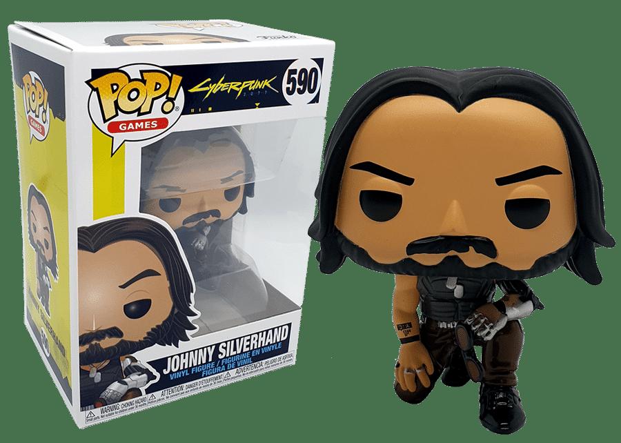 Funko Pop! Cyberpunk 2077: Johnny Silverhand #590