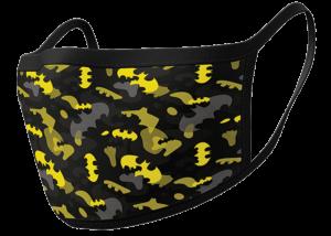 Facemask: Batman (Camo Yellow) 2-Pack