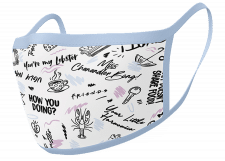Facemask: Friends (Phrases)