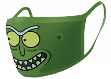 Facemask: Rick and Morty (Pickle Rick)