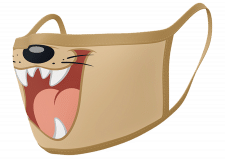 Facemask: Looney Tunes (Taz)
