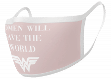 "Facemask: Wonder Woman ""Women will save the World"""