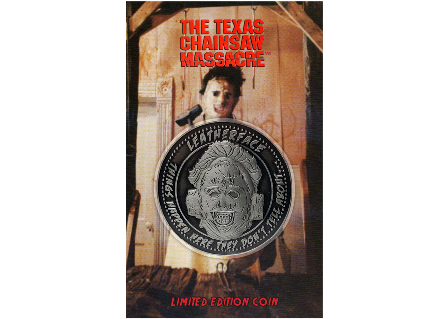 Collectable Coin: Texas Chainsaw Massacre Leatherface