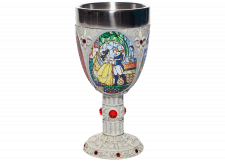 Disney Showcase: Beauty and the Beast Decorative Goblet