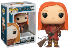 Funko Pop! Harry Potter Ginny Weasley in Quidditch Robes #50