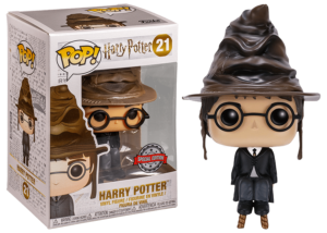 Funko Pop! Harry Potter: Harry with Sorting Hat #21