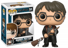 Funko Pop! Harry Potter: Harry with Firebolt #51