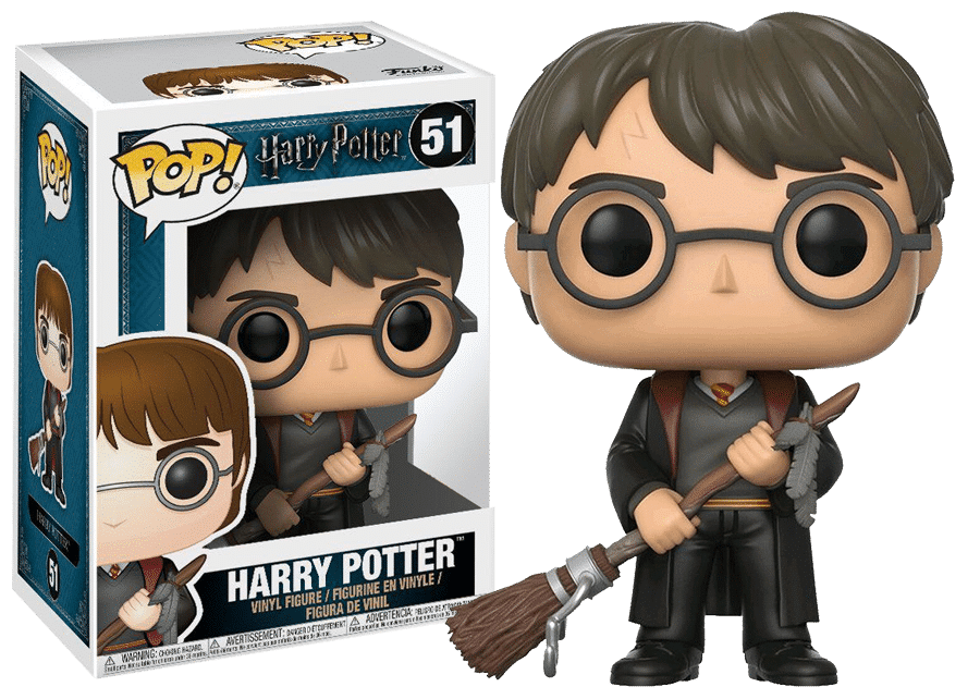 Funko Pop! Harry Potter: Harry with Firebolt #51