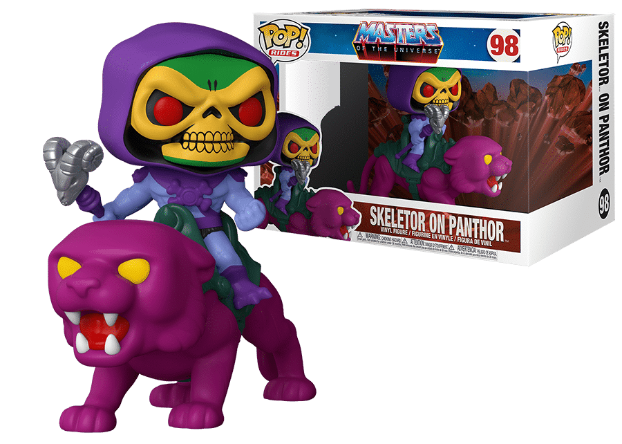 Funko Pop! MOTU: Skeletor on Panthor #98