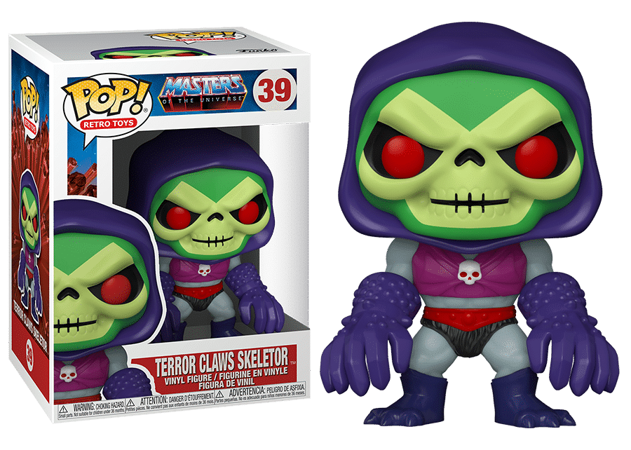 Funko Pop! MOTU: Terror Claws Skeletor #39
