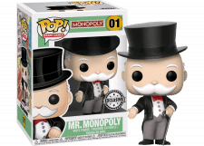 Funko Pop! Mr. Monopoly #01