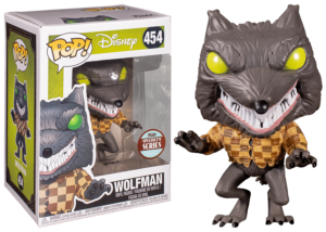 Funko Pop! NBC: Wolfman #454