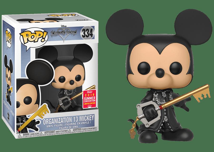 Funko Pop! Kingdom Hearts: Organization 13 Mickey #334