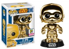 Funko Pop! Star Wars: C-3PO SDCC Chrome #13