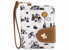 Loungefly: Winnie the Pooh Canvas Wristlet