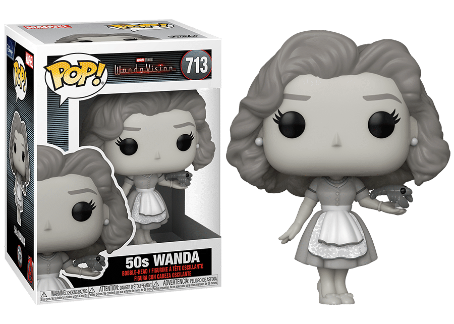 Funko Pop! WandaVision: 50s Wanda #713